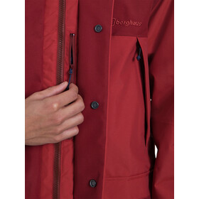 Berghaus Breccan InterActive Veste Shell Homme, red ochre/russett brown